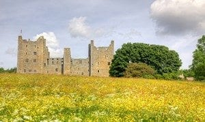 Bolton Castle is a 14th-century castle located in Wensleydale, North Yorkshire, in England. The nearby village Castle Bolton takes its name from the castle.