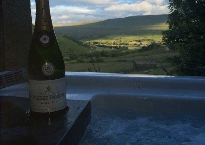 Does it get any more romantic than this! - Lyndsay and Grant Lowes at Swaledale Country Holidays