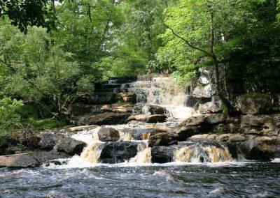 Keld waterfalls - Dieter Figge Mohr at Swaledale Country Holidays