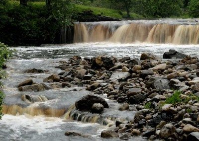 Kisdon Force near Keld - Dieter Figge Mohr at Swaledale Country Holidays