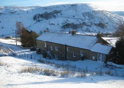 Swaledale House in winter