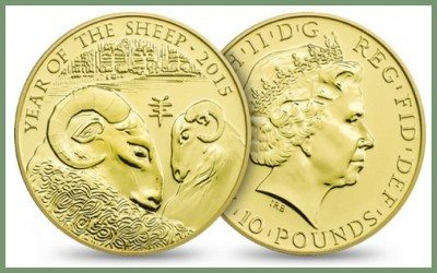 Swaledale Sheep feature on coin!