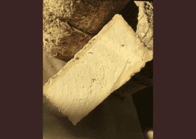 Slice of Wensleydale Cheese
